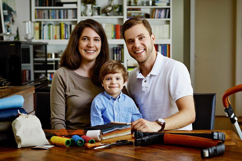 Familie Holland - LederGlück Manufaktur