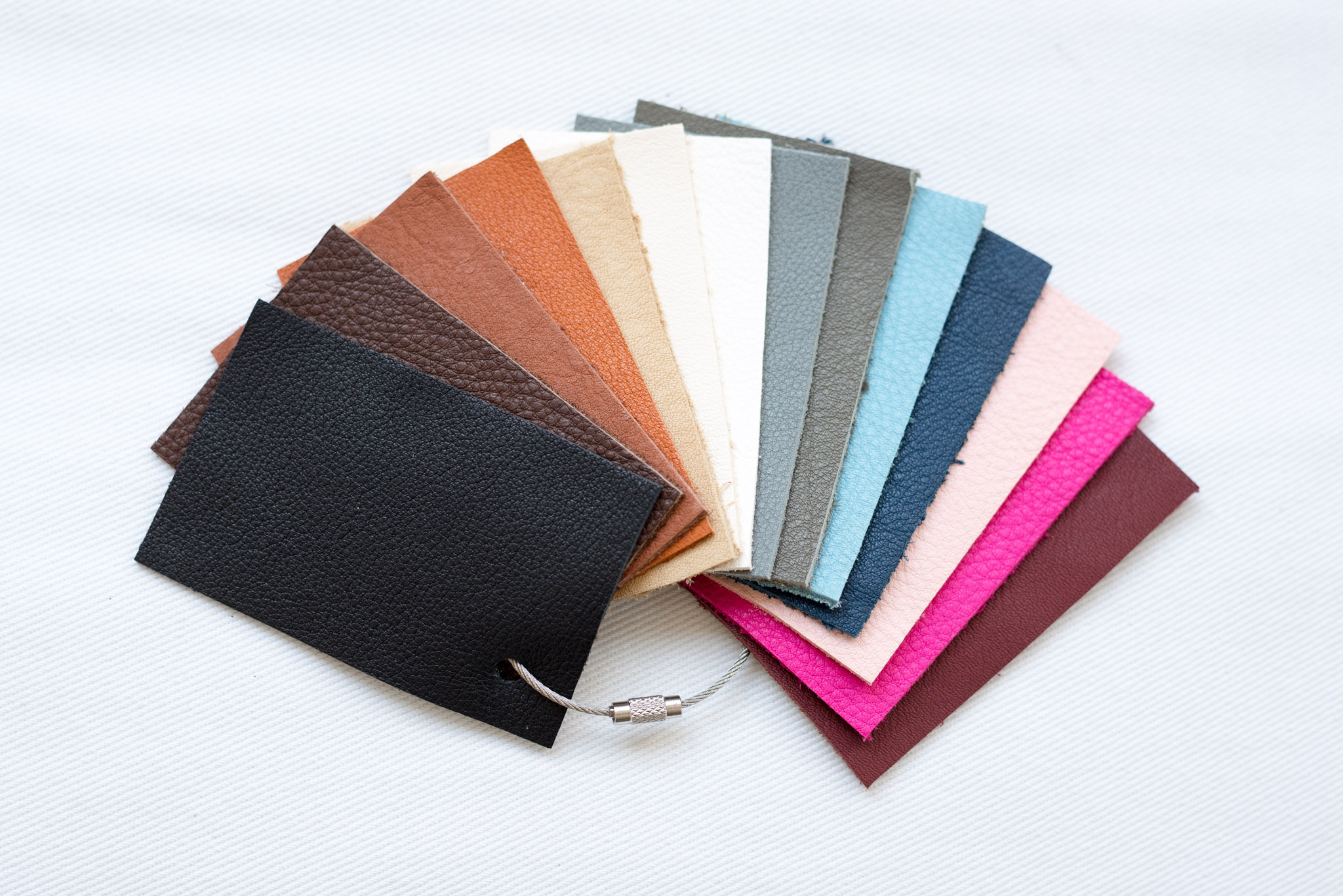 Echtleder-Farbmuster-BIO
